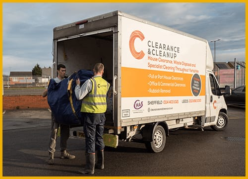 Bed-recycling-Morecambe-van-service