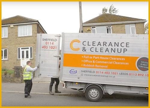 fridge-removal-Barnsley-van