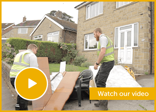 Clearance and Clean Up Garden Waste Removal Video