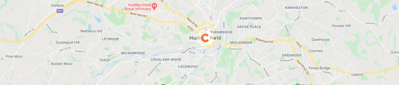 junk-collection-Huddersfield-map