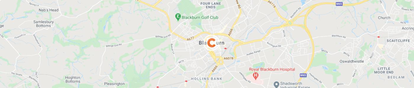 junk-removal-Blackburn-map