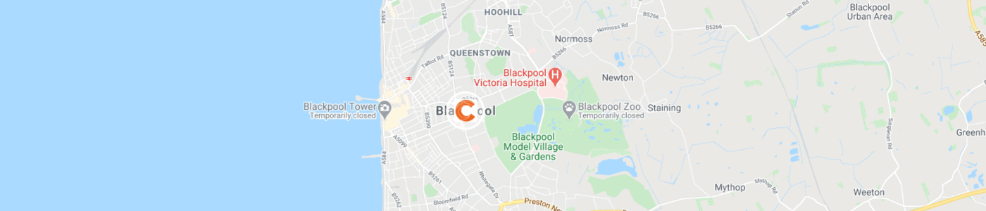 man-and-van-clearance-Blackpool-map