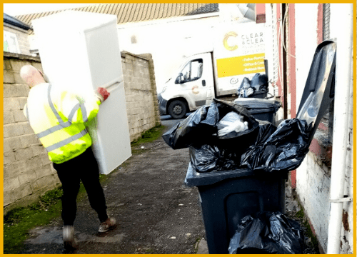 shed-removal-Blackpool-man