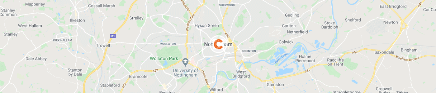 waste-removal-Nottingham-map