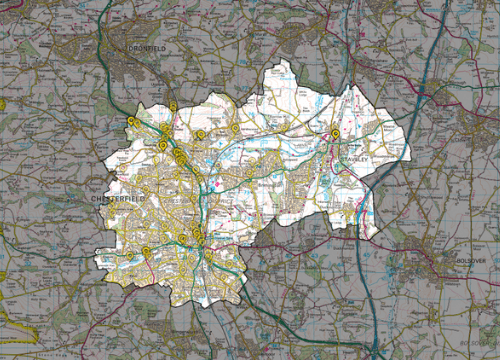 Chesterfield-fly-tipping-map
