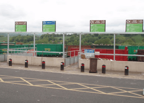 Chesterfield-recycling-centre-signs