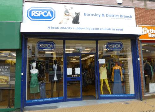 charity-shops-Barnsley-RSPCA