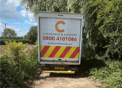 fly-tipping-Doncaster-clearance-van