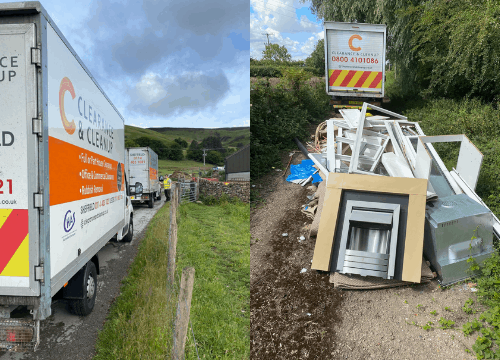fly-tipping-Worksop-vans