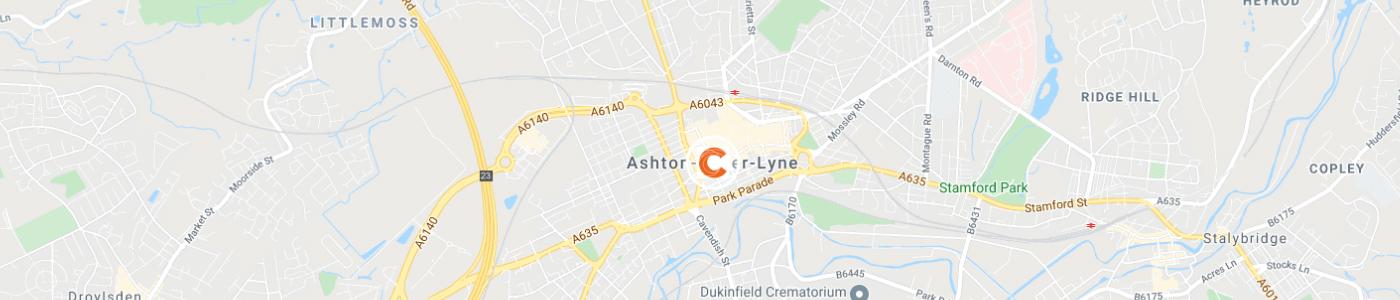 sofa-disposal-Ashton-under-Lyne-map