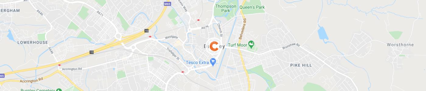sofa-disposal-Burnley-map