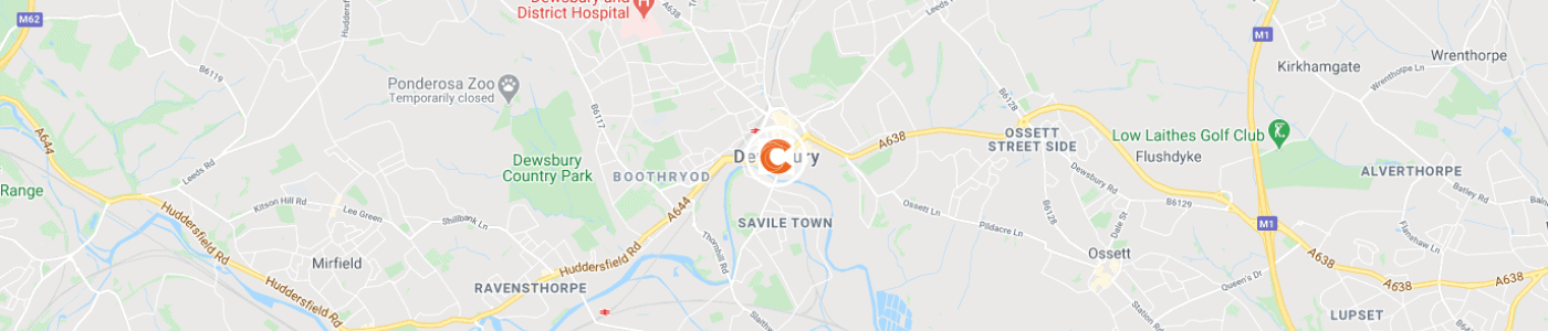 sofa-disposal-Dewsbury-map