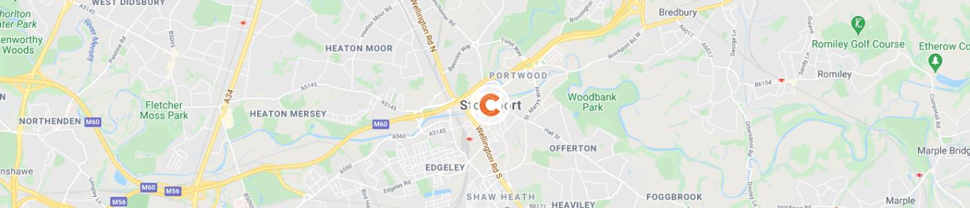sofa-disposal-Stockport-map