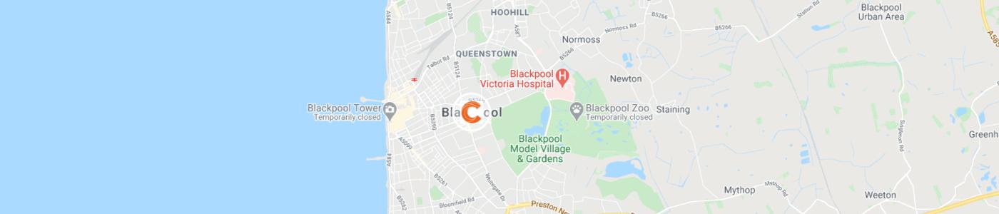waste-disposal-Blackpool-map