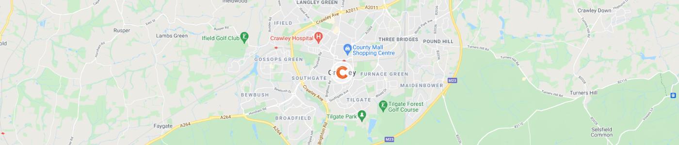 rubbish-removal-Crawley-map