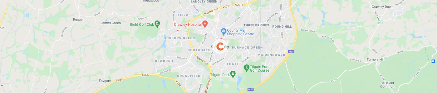 bulky-waste-and-furniture-collection-Crawley-map